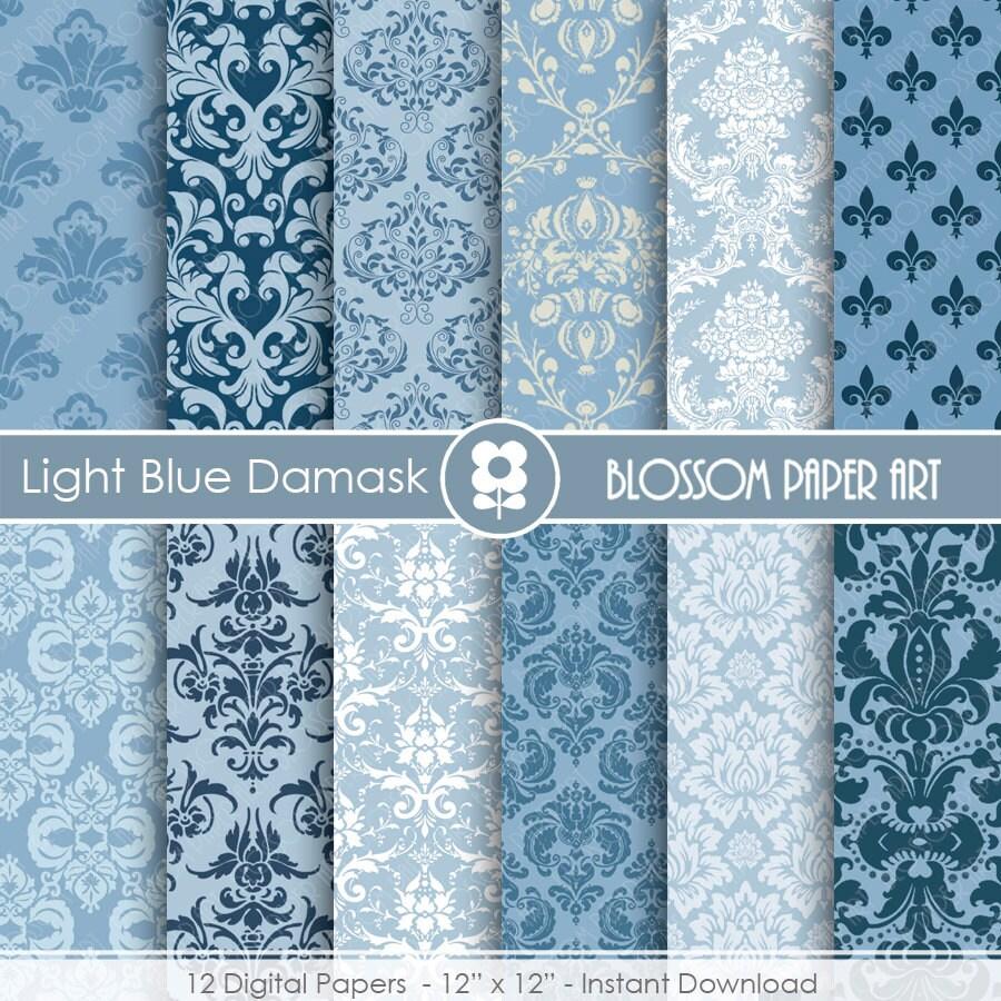 Papel decorativo celeste papeles digitales para imprimir for Papel decorativo pared