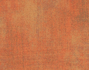 Moda Grunge Basics Fandango Orange Mottled Background Fabric 30150-113 BTY