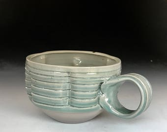 Coffee Mug celadon blue
