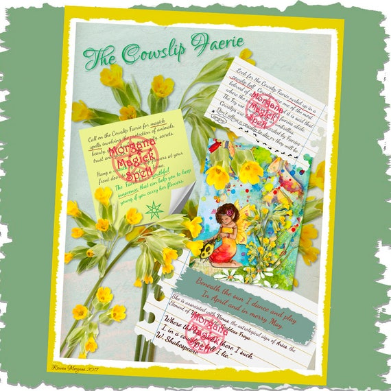The Cowslip Faerie