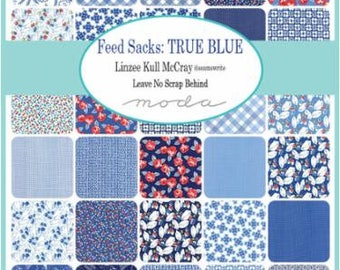 Feed Sacks: True Blue - Layer Cake