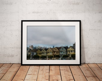 Painted Ladies | San Francisco | California | Photo Print