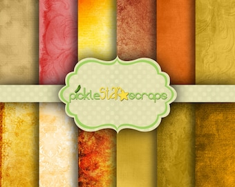 Fall Dreaming Digital Scrapbook Papers Printable Autumn Printable Fall Background Papers Digital Fall Printable Papers INSTANT DOWNLOAD