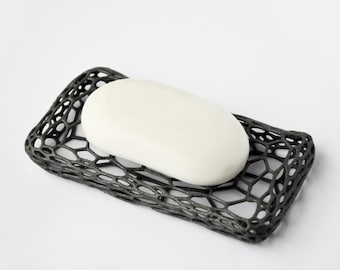 3D Printed Modern Voronoi Soap Holder Dish