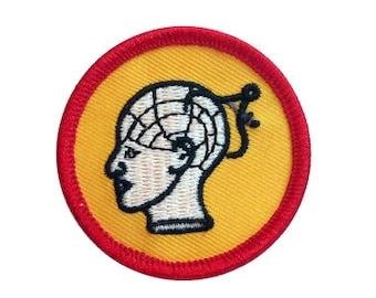 Iron on Phrenology Scout Merit Badge