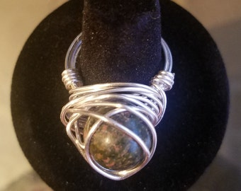 Unikite Wrapped Silver