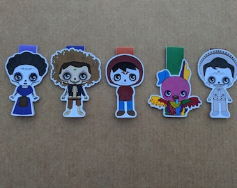 Magnetic bookmarks - Coco, Pixar, Disney
