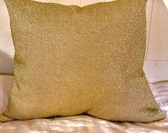 Vegas Gold Throw Pillows Gold throw pillows Gold shimmer pillows