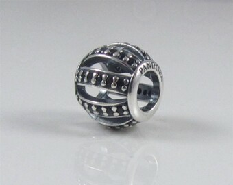 Authentic Pandora Leading Lady Black Cz Charm 791115NCK