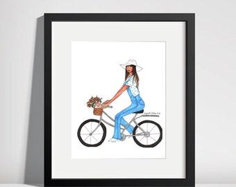 Bike Ride Print