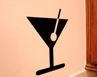 Martini - Wall Decal