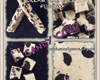 Cream & Oreo Fudge