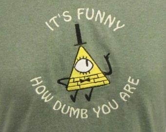 Bill Cipher Shirt - Gravity Falls