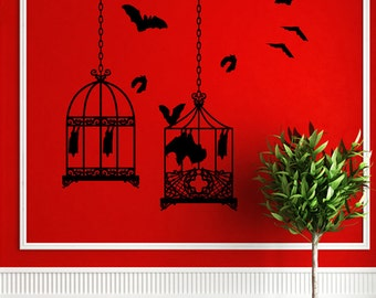 Bat Cages Wall Art-CHOOSE ANY 2 COLORs