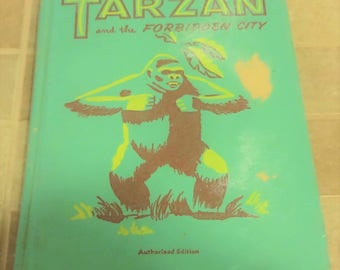 1952 Tarzan and the Forbidden City by Edgar Rice Burroughs