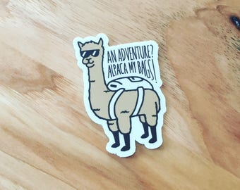 Alpaca My Bags Sticker