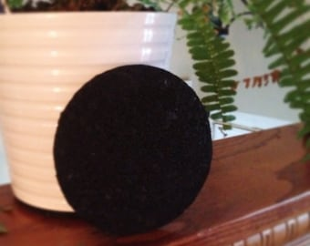 Recycled Rubber Plant Coaster