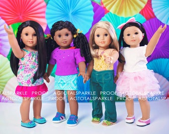 4x6 PRINT Doll Photography American Girl Prints Photo