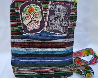 Calavera/ Sugar Skull Purse, Crossbody Bag