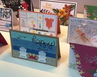 XL Multi Page Office Retirement/Special Occasion Greeting Cards