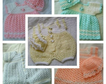 Pick Any 5 Patterns for 19.95 / Baby Adult Crochet Knitting Pattern in PDF Combo Pak 0519