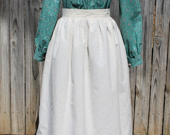 Caroline Apron sewn by Laura Ingalls Gunn