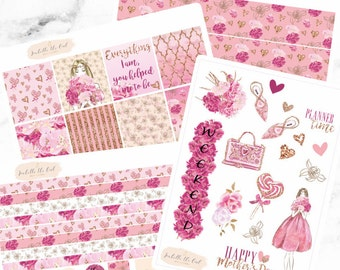Erin Condren Horizontal Mothers Day Weekly Kit Planner Stickers