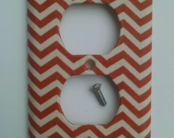 DIY Kit – craft kit – decorative outlet cover – fabric – room decor