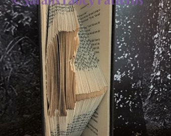 Half Price Sale - Sitting Cat - Book Folding PATTERN