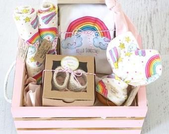 Rainbow baby gift etsy negle Choice Image