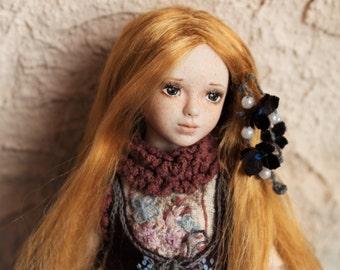 Katty. Porcelain BJD art doll by Julia Arts