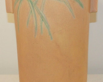 Roseville Pottery Dawn Pink Vase 833-12