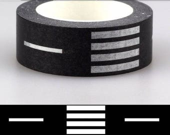 Masking tape 10 m road pattern - Washi tape with a road