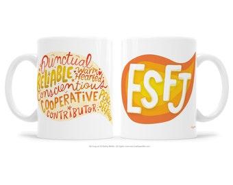 ESFJ Extrovert Gift MBTI Gift BFF Gift Support Mug Friendship Mug Woo Woo Gift Myers Briggs Gift Motivational Mug Inspirational Gift Mystic
