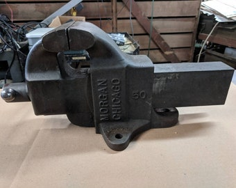 Morgan Chicago 50 Bench Vise 5""