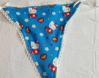 Blue Hello Kitty Panties