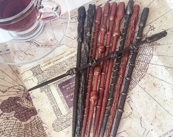 Magical wizard wands - set of 10 - witch wand magic wand wedding favour party favor  kids birthday halloween