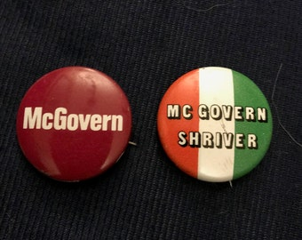 McGovern Campaign Buttons