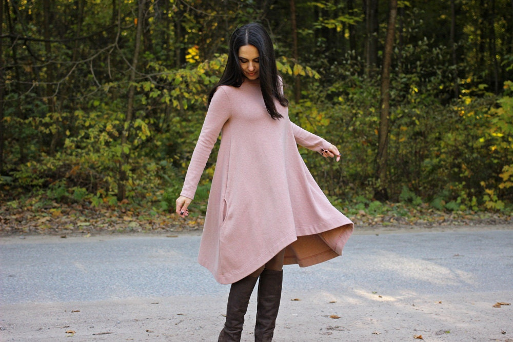 robe tente en coton avec poches robe femme robe tous les. Black Bedroom Furniture Sets. Home Design Ideas