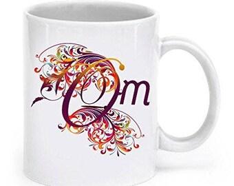 Om mug, Om Symbol Mug,  Om shanti Om Design, Om Coffee mug, Hindu Mug, gift for Hindu, funny Coffee Mug