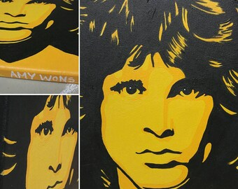 Jim Morrison Painting By Amy Wons