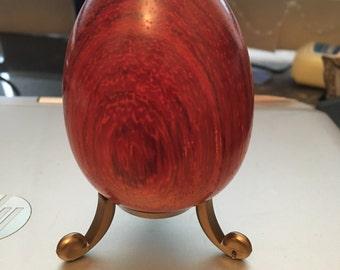 Padauk Wood Kaleidoscope Egg