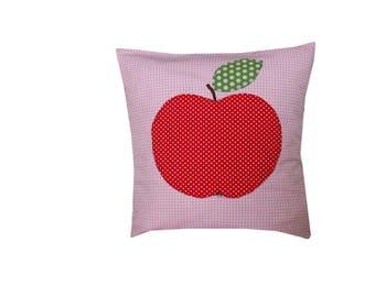 Kids pillows, application, baby pillow, Cushion cover, cushion, Apple