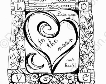Love You to the Moon-8x8