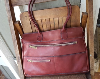 DREAMBOAT    ///    Leather 70s Bag