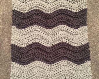Ripple Crochet Cowl