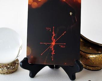 Pendulum Board featuring a Bewitching Black Cat