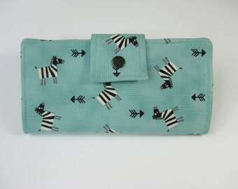 LadiesWallet,  Womens Wallet, Animal Wallet, Clutch Wallet