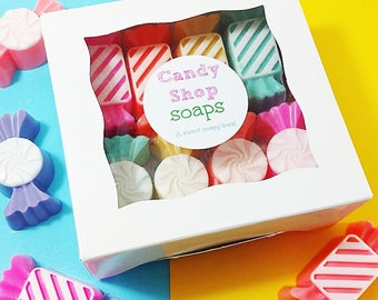 Beauty Gift Set. Bath Gift Set for Her. Gift for Her. Best Friend Gift. Birthday gift set. Candy Shop Soap Gift Set. Spa Gift Set. Gift Box