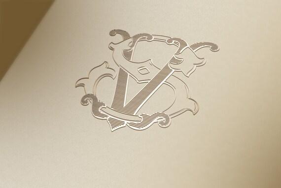 Vintage Monograms RM RA RJ RS RF Vector & Photo | Bigstock
